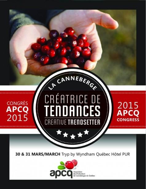 Affiche congrès APCQ 2015